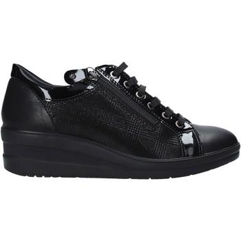 Παπούτσια Γυναίκα Χαμηλά Sneakers Enval 6277800 Μαύρος