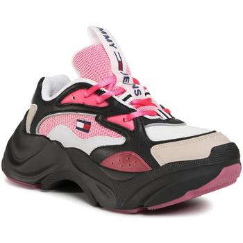 Παπούτσια Γυναίκα Χαμηλά Sneakers Tommy Hilfiger EN0EN00949 Μαύρος