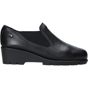 Παπούτσια Γυναίκα Μοκασσίνια Valleverde 36180 Μαύρος