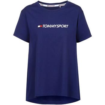 Υφασμάτινα Γυναίκα T-shirt με κοντά μανίκια Tommy Hilfiger S10S100445 Μπλε