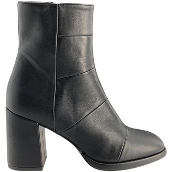 Παπούτσια Γυναίκα Μποτίνια Grace Shoes REY001 Μαύρος