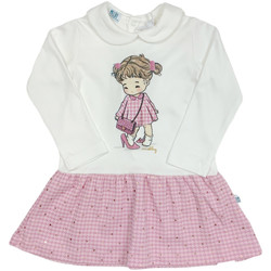 Υφασμάτινα Κορίτσι Κοντά Φορέματα Melby 20A0011 λευκό
