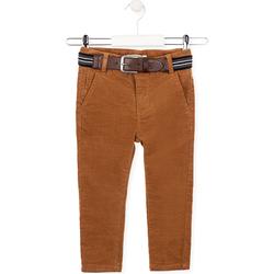 Υφασμάτινα Παιδί Παντελόνια Losan 025-9791AL το κόκκινο