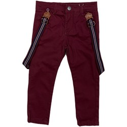 Υφασμάτινα Παιδί Παντελόνια Chino/Carrot Losan 025-9790AL το κόκκινο