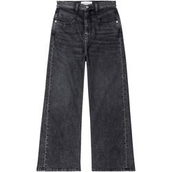 Υφασμάτινα Γυναίκα Τζιν καμπάνα Calvin Klein Jeans J20J214004 Μαύρος