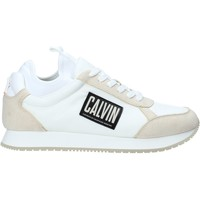 Παπούτσια Άνδρας Χαμηλά Sneakers Calvin Klein Jeans B4S0715 λευκό