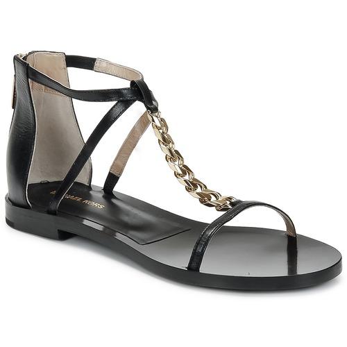 Παπούτσια Γυναίκα Σανδάλια / Πέδιλα Michael Kors ECO LUX Black