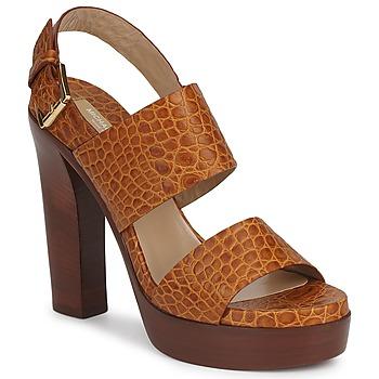 Παπούτσια Γυναίκα Σανδάλια / Πέδιλα Michael Kors MATISSE LUX Brown