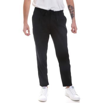 Υφασμάτινα Άνδρας Παντελόνια Chino/Carrot Antony Morato MMTR00546 FA600181 Μαύρος