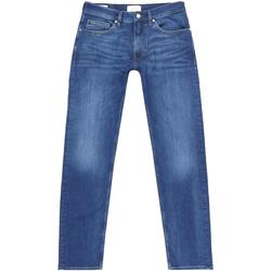 Υφασμάτινα Άνδρας Τζιν σε ίσια γραμμή Calvin Klein Jeans K10K105463 Μπλε
