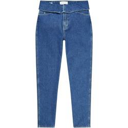 Υφασμάτινα Γυναίκα Τζιν σε ίσια γραμμή Calvin Klein Jeans J20J214013 Μπλε