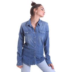 Υφασμάτινα Γυναίκα Πουκάμισα Fornarina BE174577D884AS Μπλε