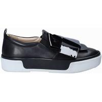 Παπούτσια Γυναίκα Slip on Janet Sport 41707 Μαύρος