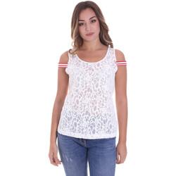 Υφασμάτινα Γυναίκα Μπλούζες Fornarina BE175J89JG1309 λευκό