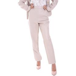 Υφασμάτινα Γυναίκα Παντελόνια Chino/Carrot Fracomina F120W10062E00701 Μπεζ