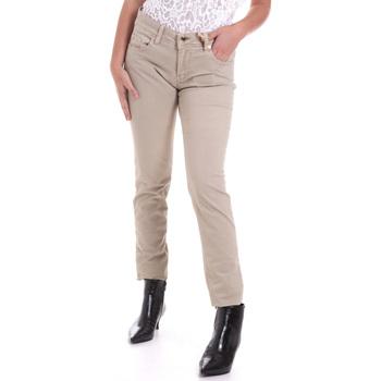 Υφασμάτινα Γυναίκα Παντελόνια Πεντάτσεπα Gaudi 821BD25025 Μπεζ