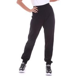 Υφασμάτινα Γυναίκα Παντελόνια Key Up 5FI47 0001 Μαύρος