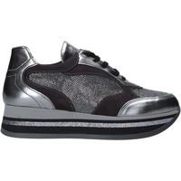Παπούτσια Γυναίκα Χαμηλά Sneakers Grace Shoes GLAM001 Ασήμι
