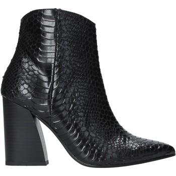 Παπούτσια Γυναίκα Μποτίνια Grace Shoes 724K004 Μαύρος