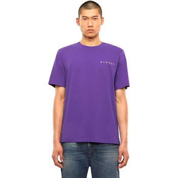 Υφασμάτινα Άνδρας T-shirt με κοντά μανίκια Diesel A01031 0PATI Βιολέτα