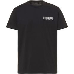 Υφασμάτινα Άνδρας T-shirt με κοντά μανίκια Diesel A00582 0HAYU Μαύρος