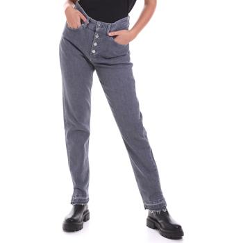 Υφασμάτινα Γυναίκα Τζιν σε ίσια γραμμή Calvin Klein Jeans K20K202114 Γκρί
