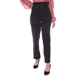 Υφασμάτινα Γυναίκα Παντελόνια Chino/Carrot Gaudi 021FD25013 Μαύρος