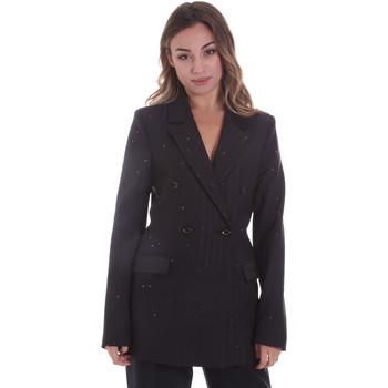 Υφασμάτινα Γυναίκα Σακάκι / Blazers Gaudi 021FD35022 Μαύρος