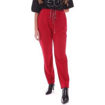 Υφασμάτινα Γυναίκα Παντελόνια Gaudi 021BD25026 το κόκκινο