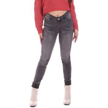 Υφασμάτινα Γυναίκα Skinny jeans Gaudi 021BD26024 Γκρί