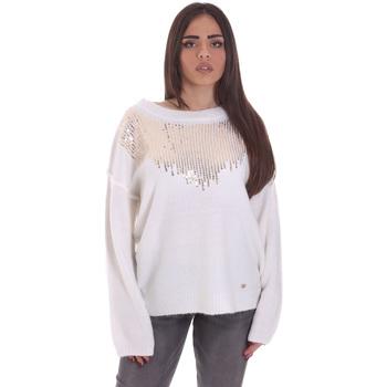Υφασμάτινα Γυναίκα Πουλόβερ Gaudi 021BD53044 λευκό