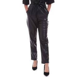 Υφασμάτινα Γυναίκα Παντελόνια Chino/Carrot Gaudi 021FD28001 Μαύρος