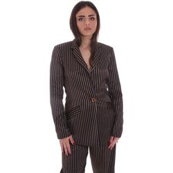 Υφασμάτινα Γυναίκα Σακάκι / Blazers Gaudi 021FD35031 Μαύρος