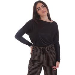 Υφασμάτινα Γυναίκα Μπλουζάκια με μακριά μανίκια Gaudi 021FD64014 Μαύρος