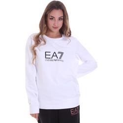 Υφασμάτινα Γυναίκα Φούτερ Ea7 Emporio Armani 8NTM39 TJ31Z λευκό