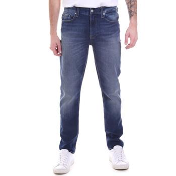Υφασμάτινα Άνδρας Τζιν σε ίσια γραμμή Calvin Klein Jeans K10K106200 Μπλε
