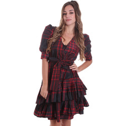 Υφασμάτινα Γυναίκα Κοντά Φορέματα Liu Jo WF0303 T4587 το κόκκινο
