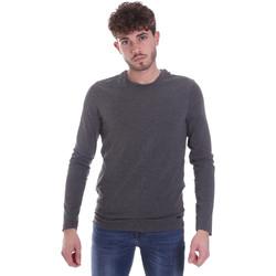 Υφασμάτινα Άνδρας Μπλουζάκια με μακριά μανίκια Gaudi 021GU64022 Γκρί