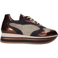 Παπούτσια Γυναίκα Χαμηλά Sneakers Grace Shoes GLAM001 καφέ