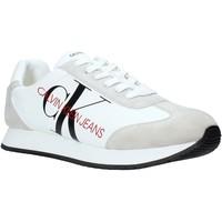 Παπούτσια Άνδρας Χαμηλά Sneakers Calvin Klein Jeans B4S0716 λευκό