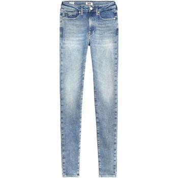 Υφασμάτινα Γυναίκα Skinny Τζιν  Tommy Jeans DW0DW08392 Μπλε