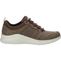 Παπούτσια Άνδρας Χαμηλά Sneakers Skechers 52779 καφέ