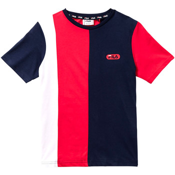 Υφασμάτινα Παιδί T-shirt με κοντά μανίκια Fila 688008 το κόκκινο