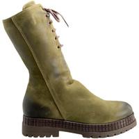 Παπούτσια Γυναίκα Μπότες Bueno Shoes 20WM3006 Πράσινος