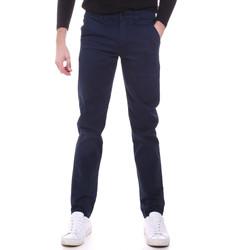 Υφασμάτινα Άνδρας Παντελόνια Chino/Carrot Sseinse PSI646SS Μπλε