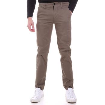 Υφασμάτινα Άνδρας Παντελόνια Chino/Carrot Sseinse PSI646SS Μπεζ