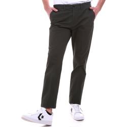 Υφασμάτινα Άνδρας Παντελόνια Chino/Carrot Navigare NV55187 Πράσινος