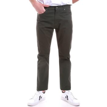 Υφασμάτινα Άνδρας Παντελόνια Chino/Carrot Navigare NV53090 Πράσινος