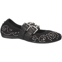 Παπούτσια Γυναίκα Μπαλαρίνες Mally 6097 Μαύρος