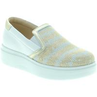 Παπούτσια Γυναίκα Slip on Exton E02 λευκό